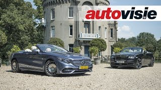 Rolls-Royce Dawn vs. Mercedes-Maybach S 650 Cabriolet