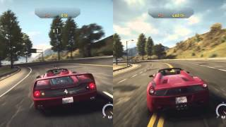 Need For Speed Rivals (Xbox One): Ferrari 458 Spider vs. Ferrari F50