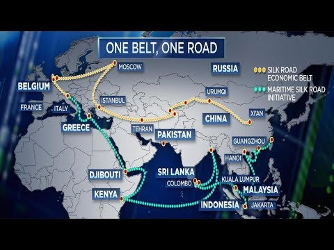 CHINA'S ONE BELT ONE ROAD INITIATIVE RAIL PROJECT ETHIOPIA TO DJIBOUTI (MAY 2018) thumbnail