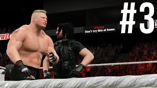 WWE 2K15 | Mode Univers #3 : RAW !