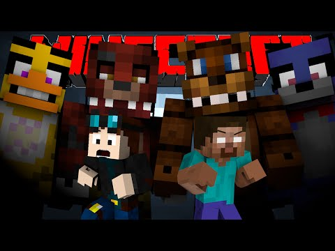TheDiamondMinecart & Herobrine VS. Five Nights At Freddy's