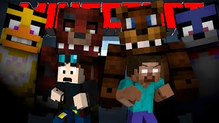 TheDiamondMinecart and Herobrine VS. Five Nights at Freddy's -Minecraft