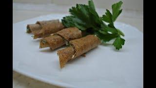 Печеночные рулетики - отличная закуска к праздничному столу