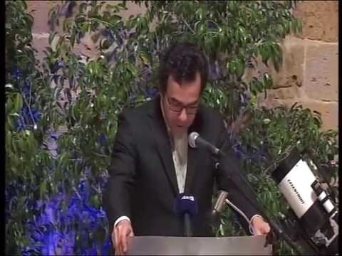 Ant1 News - Gala Event of 1st Space Week in Nicosia
