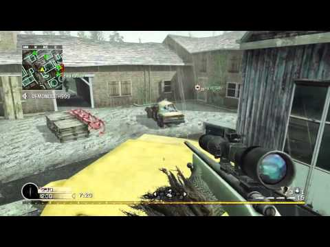MW1 | TeamDeathmatch | Downpour | M40A3...
