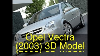 3D Model of Opel Vectra (2003) Review