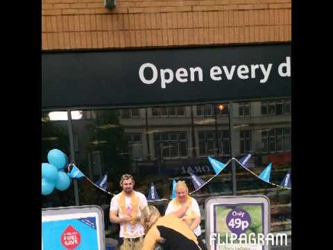 Charity Gunging @ Tesco Capital Metro Cardiff