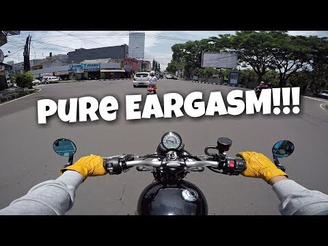 TRIUMPH STREET SCRAMBLER PURE SOUND & TEST RIDE with ZARD EXHAUST | #Motovlog (31)