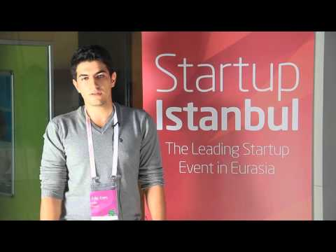 Startup Istanbul 2015 - Edip Enes Cakir (Founder of Simenty) Interview