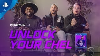 NHL 20 | Unlock Your CHEL ft. Auston Matthews, P.K. Subban & Paul Bissonnette | PS4