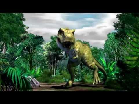 Jurassic park iii dino defender muerte por tiranosaurio rex youtube - Dinosaure de jurassic park ...