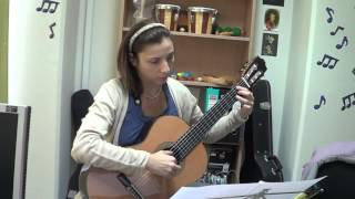 """""""7 Non-Classical Pieces for Classical Guitar"""": 2. Night Express, Mikhail Sytchev"""