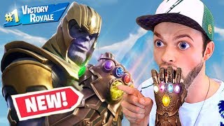 Ali A REVEALS *NEW*AVENGERS ENDGAME GAMEPLAY FORTNITE Season 9 Secret Leaked Information!