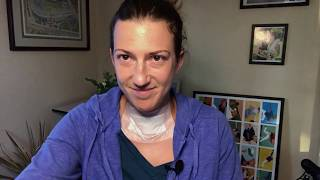 Full Recovery After Thyroid Surgery Including Videos from Post Op Days 2, 4, 6, and 14