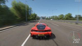 Forza Horizon 4 - 2019 Ferrari 488 Pista Gameplay [4K]