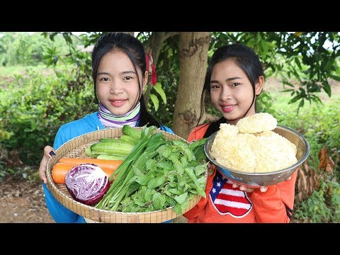 Awesome Cooking Spicy & Sour Chicken Pork W/ Vegetable Delicious – Cook Recipe -Village Food Factory