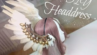 Diy Headdress with Feather , Výroba čelenky s peřím