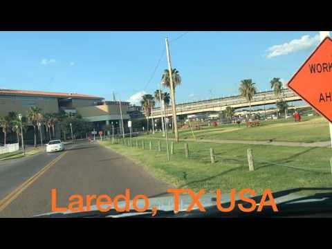Taking a tour to the shortcut in La Azteca neighborhood in Laredo, TX
