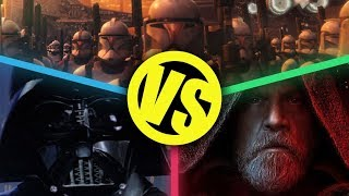 Empire Strikes Back VS The Last Jedi VS Attack of the Clones : Movie Feuds