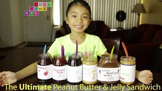 The Best DIY Peanut Butter & Jelly Sandwich | Full-Time Kid | PBS Parents