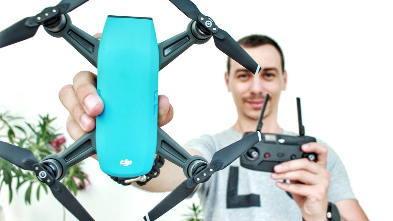 df21f9152df2 Unboxing the DJI Spark - Fly More Combo (Sky Blue) - YouTube