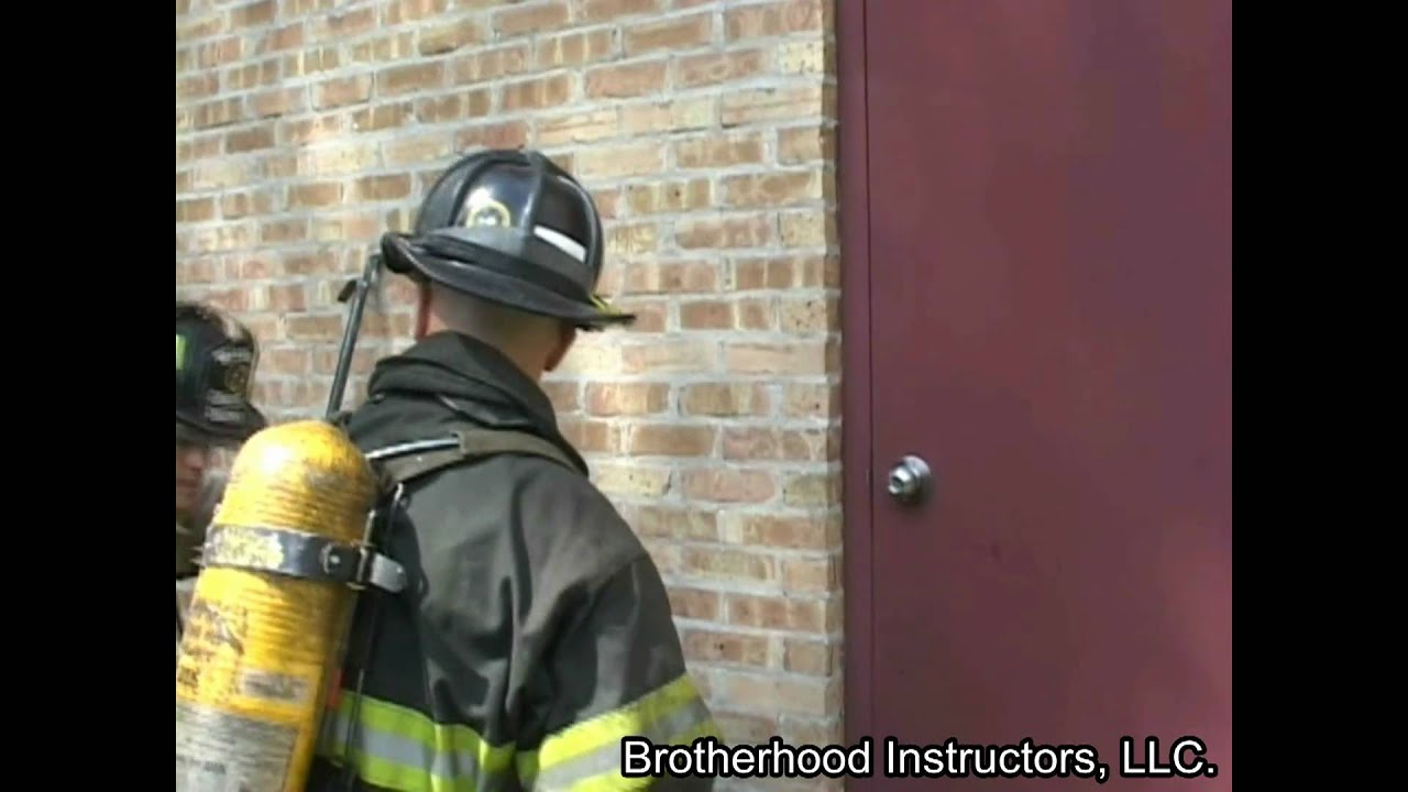 Forcible Entry Outward Opening Door With Multiple Locks