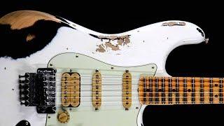 Hard Blues Rock Guitar Backing Track Jam in G Minor