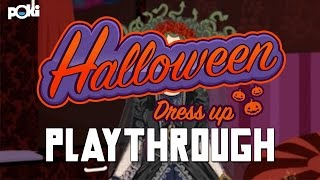 Creepy Clothes! Poki Halloween Dress up Playthrough