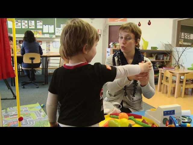 de Taaltrein - Voor jonge kinderen met moeite met horen, spreken of taal.