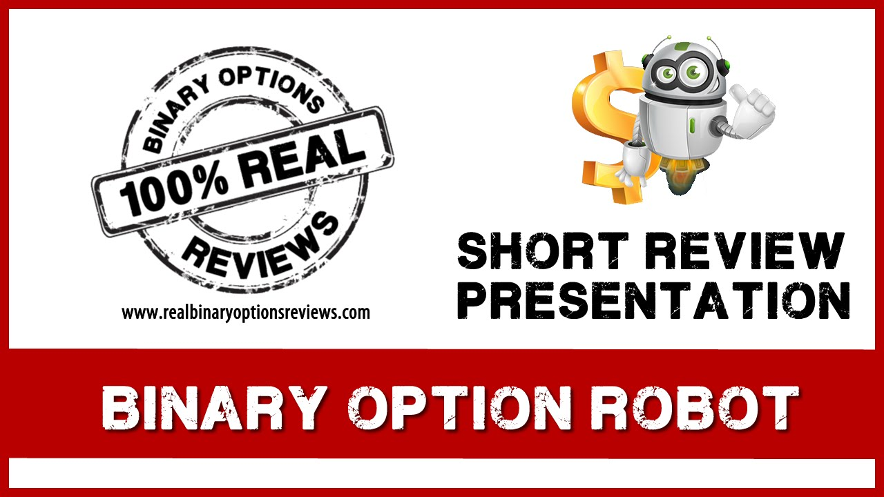 Binary options robot testimonials