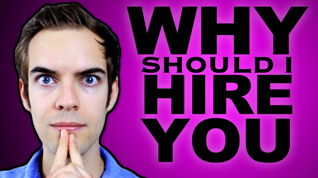 why should i hire you yiay  why should i hire you yiay 156