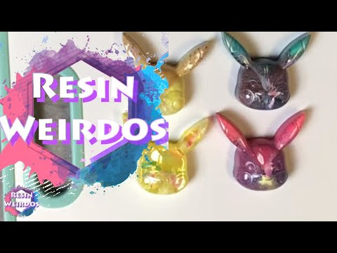 Watch Me Resin - Alcohol Ink Pikachu - Epoxy Resin - Resin Ideas
