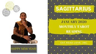 "SAGITTARIUS - ""ABUNDANT AND GLOWING, AMAZING YEAR AHEAD!"" JANUARY 2020 MONTHLY TAROT READING"