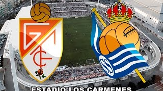 Video Gol Pertandingan Granada vs Real Sociedad