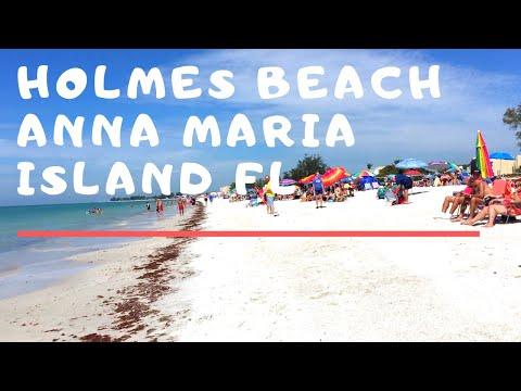 Gorgeous Day At Holmes Beach On Anna Maria Island Florida  🏖️