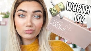 GIGI HADID X MAYBELLINE JETSETTER PALETTE? IS IT WORTH IT!?