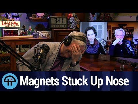 Astrophysicist Coronavirus Inventor Gets Magnets Stuck Up Nose