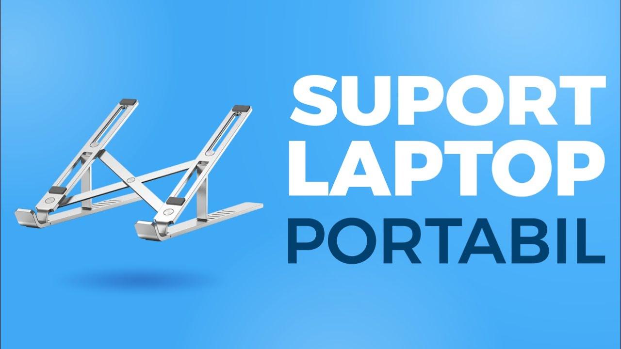 Tech-Protect Alustand - Cel mai practic suport de laptop, il iei oriunde cu tine!