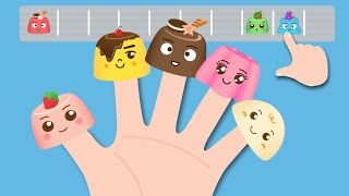 Finger Family Song- Pudding Nursery Rhymes 핑거 패밀리 송 푸딩송