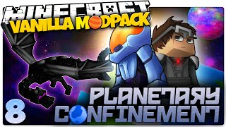 Minecraft Vanilla Mods | THE FIRST BOSS FIGHT | Planetary Confinement Multiplayer #8 (Vanilla Mod)