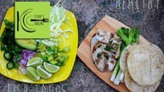 Healthy Fish Tacos (stevescooking)