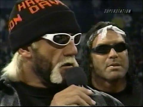 nWo B-Team confront nWo Wolfpac Elite [Thunder - 7th January 1999]