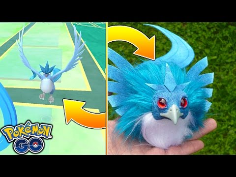 WTF! THESE POKEMON ACTUALLY EXIST IN REAL LIFE! ARTICUNO LEGENDARY POKEMON IN REAL LIFE | Pokemon Go