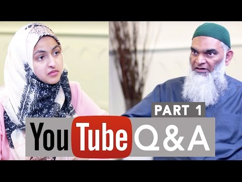 YOUTUBE Q&A: Allah's Mercy, Checking Ingredients, Comparative Religion, Passing of a Loved One - 1/2