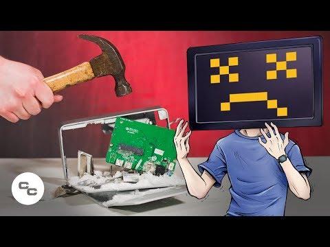 External Hard Drive Failure and Data Recovery - Krazy Ken's Tech Misadventures