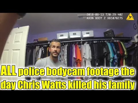 Police bodycam footage in Chronological order the day Chris Watts' family were reported missing