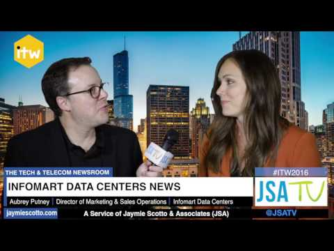 ITW 2016: Infomart Data Centers - Company Growth, New Carrier Hotel in Dallas, TX