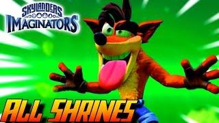 Skylanders Imaginators - All Sensei Shrine Cutscenes thumbnail