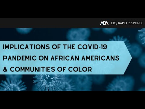 implications-of-the-covid-19-pandemic-on-african-americans-and-communities-of-color
