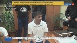 Допрос подозреваемого в убийстве борца Юрия Власко